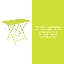 Bistro 97x57 Table - Verbena Green