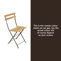 Bistro Natural Chair - Russet