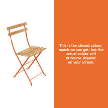 Bistro Natural Chair - Carrot