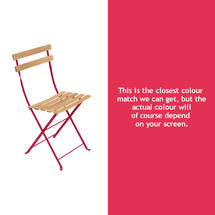 Bistro Natural Chair - Pink Praline