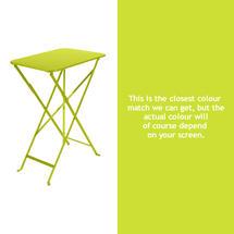 Bistro 37x57 Table - Verbena Green
