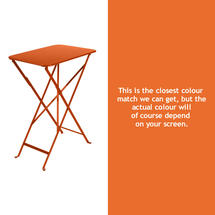 Bistro 37x57 Table - Carrot