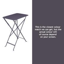 Bistro 37x57 Table - Plum