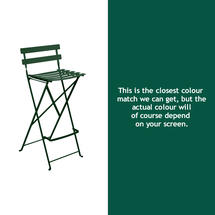 Bistro Tall Chair - Cedar Green