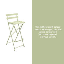 Bistro Tall Chair - Willow Green
