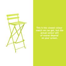 Bistro Tall Chair - Verbena Green