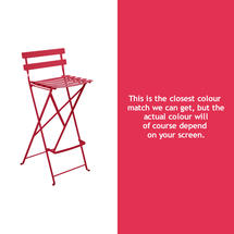Bistro Tall Chair - Pink Praline