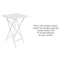 Bistro Tall Table - Cotton White