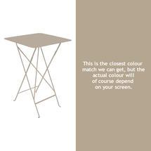 Bistro Tall Table - Nutmeg