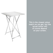 Bistro Tall Table - Steel Grey