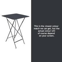 Bistro Tall Table - Anthracite