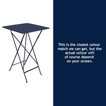 Bistro Tall Table - Deep Blue