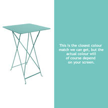Bistro Tall Table - Lagoon Blue