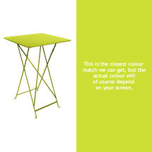 Bistro Tall Table - Verbena Green