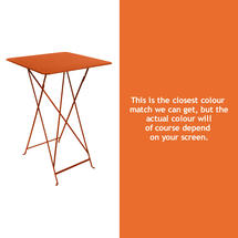 Bistro Tall Table - Carrot
