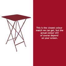Bistro Tall Table - Chilli