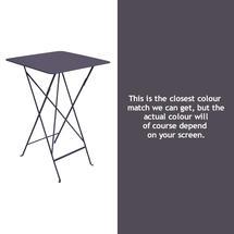 Bistro Tall Table - Plum