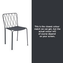 Kintbury Dining Chair - Anthracite