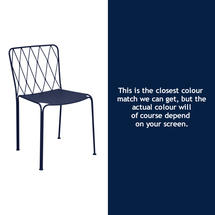 Kintbury Dining Chair - Deep Blue