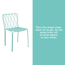Kintbury Dining Chair - Lagoon Blue