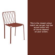 Kintbury Dining Chair - Red Ochre