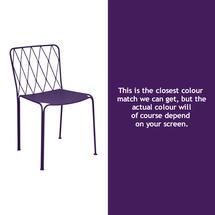 Kintbury Dining Chair - Aubergine