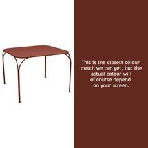 Kintbury Dining Table - Red Ochre