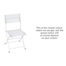 Latitude Folding Chair - Cotton White