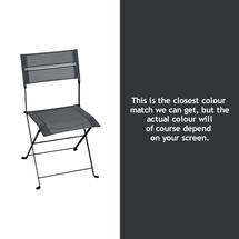 Latitude Folding Chair - Anthracite