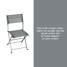 Latitude Folding Chair - Storm Grey