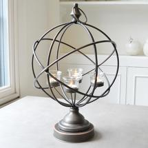 Armillary Sphere Tealight Holder