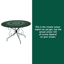 Montmartre 117cm Table - Cedar Green