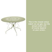 Montmartre 117cm Table - Willow Green
