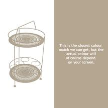 Montmartre Portable Side Table - Nutmeg