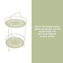 Montmartre Portable Side Table - Willow Green