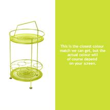 Montmartre Portable Side Table - Verbena Green