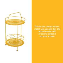 Montmartre Portable Side Table - Honey