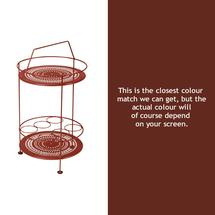 Montmartre Portable Side Table - Red Ochre