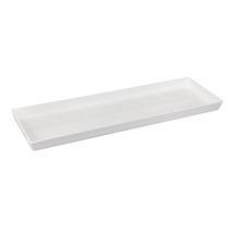 Urban Trough Saucer - White