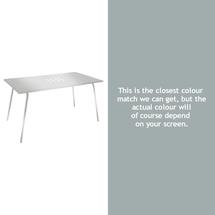 Monceau 146 x 80cm Table - Steel Grey