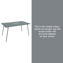 Monceau 146 x 80cm Table - Storm Grey