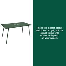 Monceau 146 x 80cm Table - Cedar Green