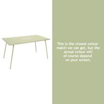 Monceau 146 x 80cm Table - Willow Green