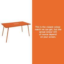 Monceau 146 x 80cm Table - Carrot