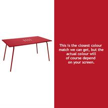 Monceau 146 x 80cm Table - Poppy