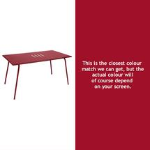 Monceau 146 x 80cm Table - Chilli
