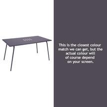 Monceau 146 x 80cm Table - Plum