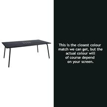 Monceau 194 x 94cm Table - Liquorice