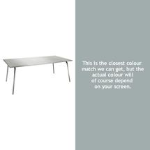 Monceau 194 x 94cm Table - Steel Grey