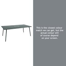 Monceau 194 x 94cm Table - Storm Grey